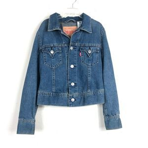 Levi's Denim Jean Trucker Jacket Medium